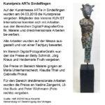 Kunstpreis ARTe Sindelfingen