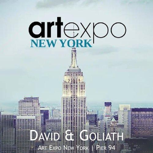 Es ist das erklärte Ziel von [KUN:ST] International seinen Künstlerinnen und Künstlern internationale Ausstellmöglichkeiten zu bieten. Bereits in 2019 haben wir erfolgreich an der ART Expo New York teilgenommen und werden 2021 erneut mit unserem Harmony-Projekt David & Goliath an der ART Expo in New York teilnehmen.