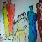 Elfie Bilger | Teamwork | 80 x 60 cm