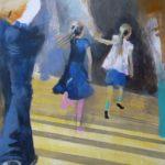 Klara und Luise 2 | 65x50 cm