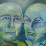 A + B Portrait III | 50x70 cm