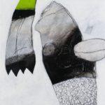 Vogel im Quadrat 1 | 60x60 cm