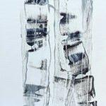 Thorsten Frank | Black traces I | 50x50 cm