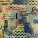 Susanne Freiler-Hoellinger | Elektronik POP-UP (1) | 50x50 cm | 2021