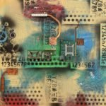 Susanne Freiler-Hoellinger | Elektronik POP-UP (2) | 50x50 cm | 2021