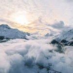 Valentin Haase | Über den Wolken - Engadin, Schweiz | 50x70 cm