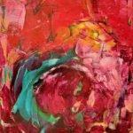Kerstin Hanke | Ende der Besinnung | 60x50 cm