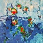 Kerstin Hanke | Von innen heraus | 60x50 cm