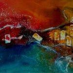 Sonja Hatzelmann | Haus am Meer | 70x100 cm