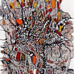 Ingrid Huober | Kaleodoskop | 80x50 cm