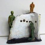 Gisa Klemm | Treffpunkt | 39x34 cm