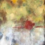 Monika Krautscheid-Bosse | Roter Punkt | 60x80 cm
