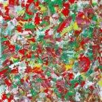 Romana Meißner | SUMMER RAIN. | 60x60 cm