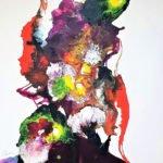 Annegret Poschlep | bella donna | 60x60 cm
