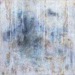 Helga Reichle | Gletscher 1 | 50x50 cm