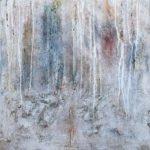 Helga Reichle | Gletscher 2 | 50x50 cm