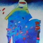 Constanze Reithmayr-Stark | Gipfelstürmer 2 | 80x80 cm