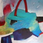 Constanze Reithmayr-Stark | UTOPIA | 80x80 cm