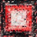Kerstin Sagebiel | red-mosaic | 60x60 cm