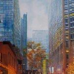 Jutta Hanna Schwarz | New York City I | 60x50 cm