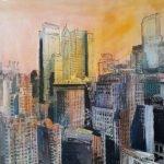 Jutta Hanna Schwarz | New York City II | 50x60 cm