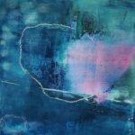 Andrea Titscherlein | Durchbruch in rosa | 50x50 cm