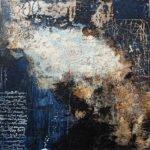 Irmgard Werner | Blue x-mas | 50x50 cm