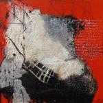 Irmgard Werner | Rote Erwartungen | 50x50 cm