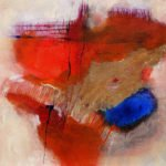 Irmgard Wessely | Oase | 60x60 cm